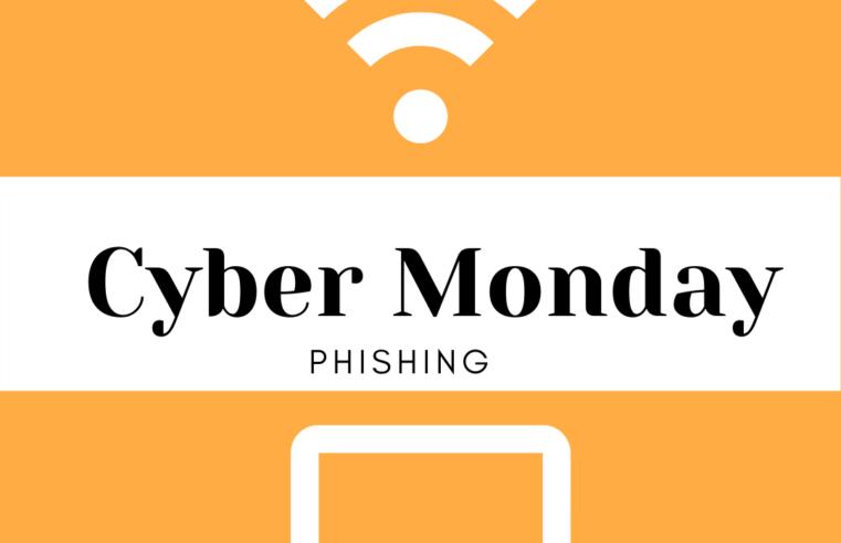 Cyber Monday: wat is phishing?