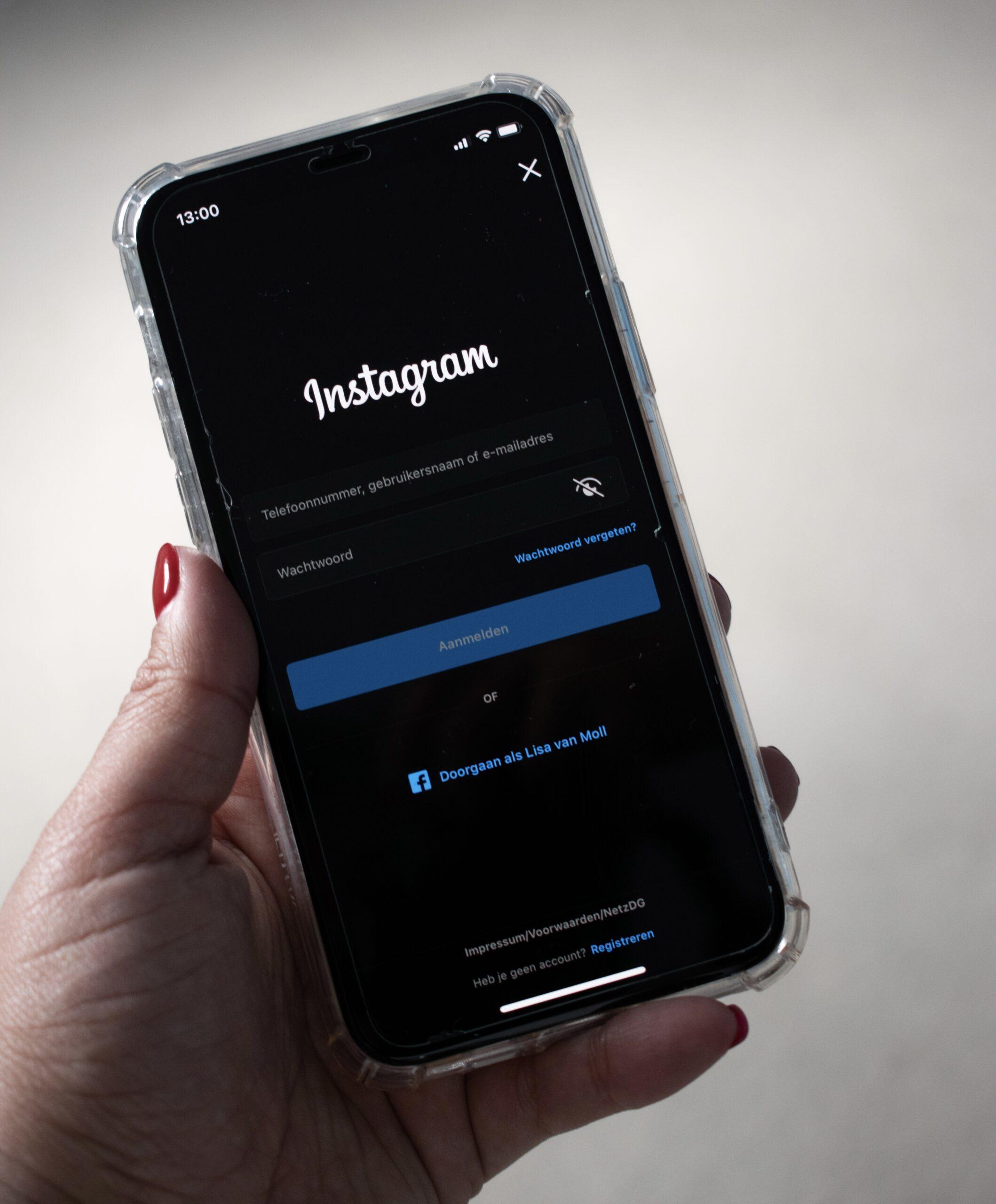 De keerzijde van Instagram