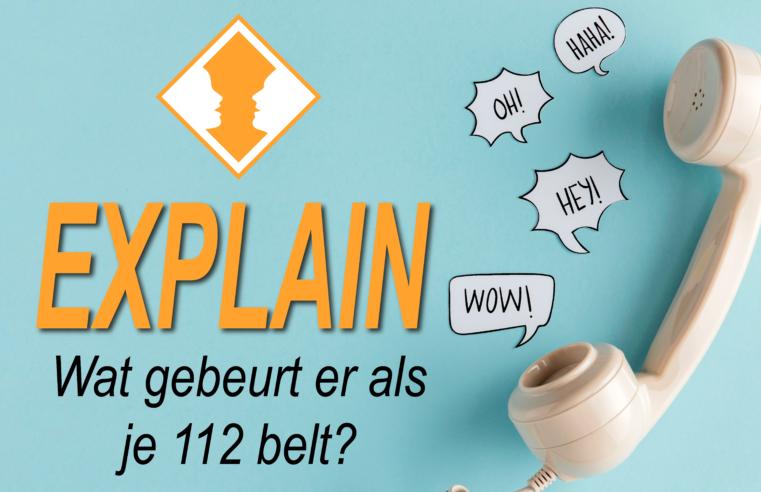 Wat gebeurt er als je 112 belt? – EXPLAIN