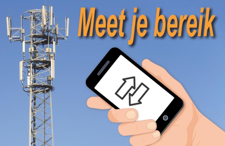 Last van slecht mobiel bereik? Meet het handig zelf via een app!