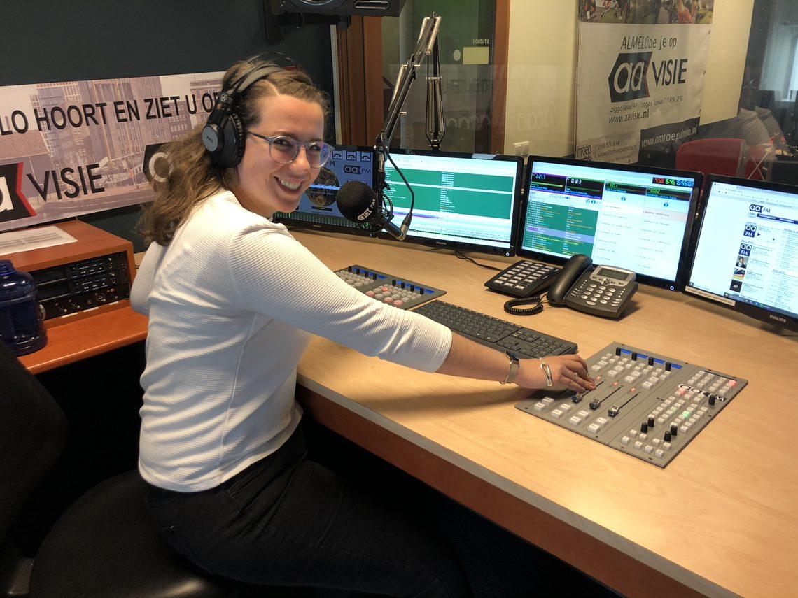 Dromen van een succesvolle carrière in radiowereld als vrouw is lastig