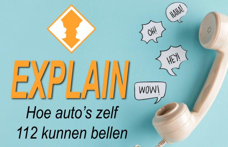 Auto's die zelf 112 bellen: hoe zit dat? – EXPLAIN
