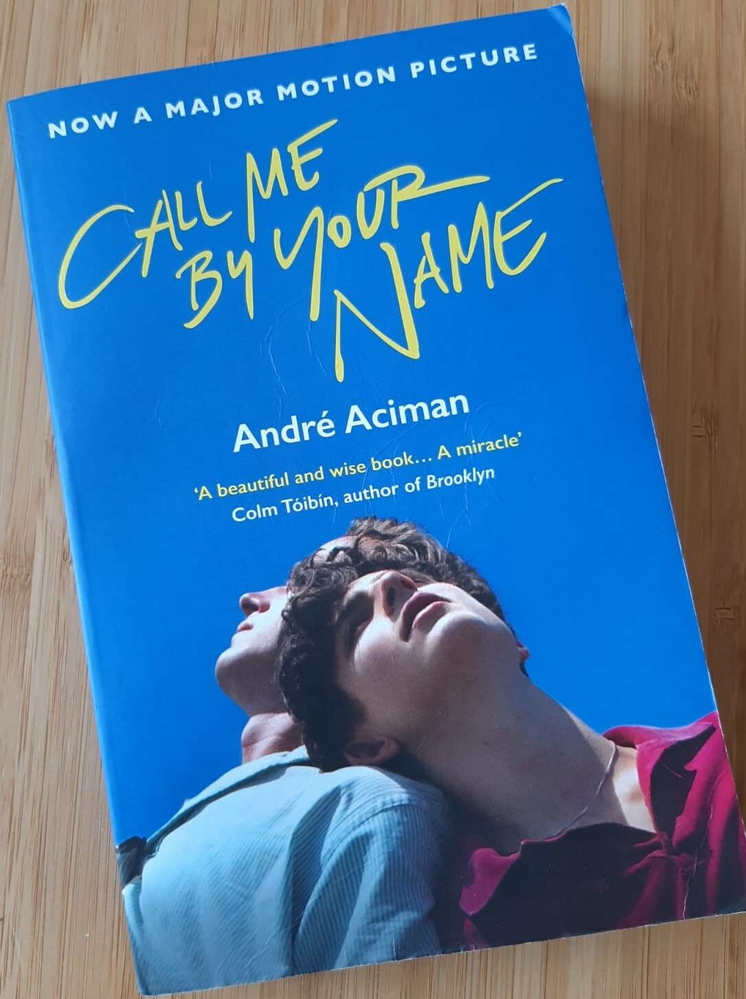 Boek van de week: Call me by your name