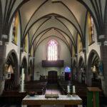 De kerk van binnen