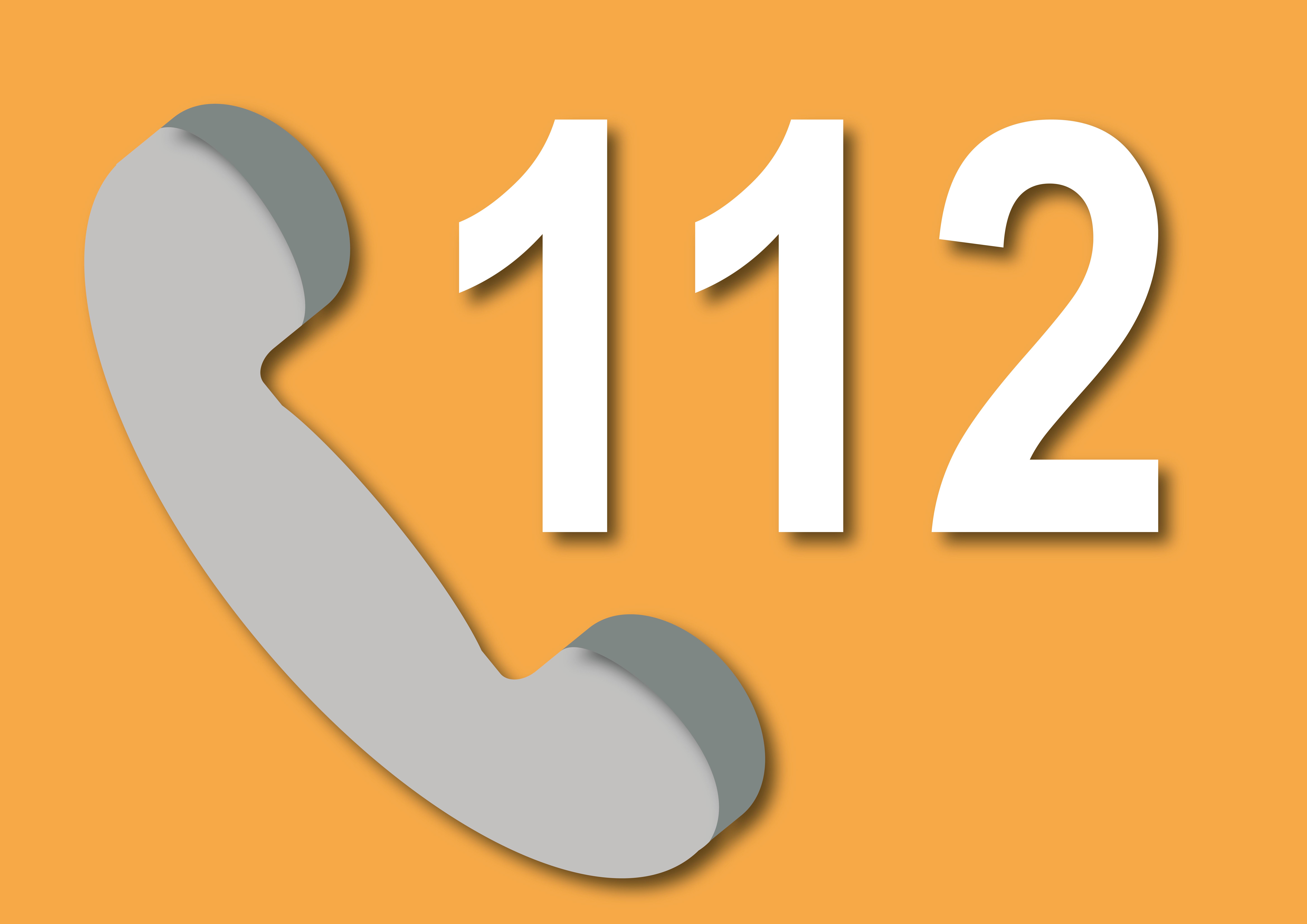 Aantal 112-telefoontjes in 2020 met tien procent gestegen