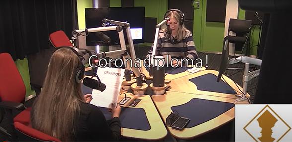 Corona Diploma de radioshow